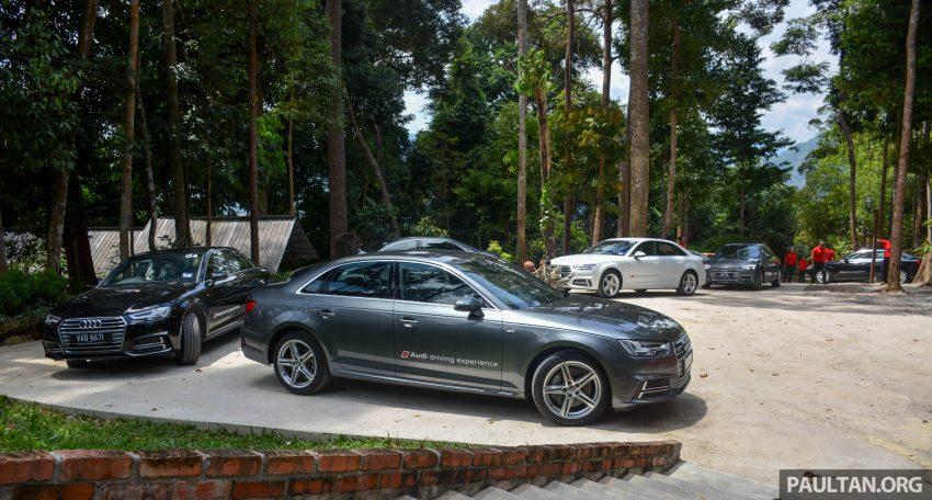 试驾:Audi A4 2.0 quattro & 1.4 TFSI,高低配的差异。 Image #33697