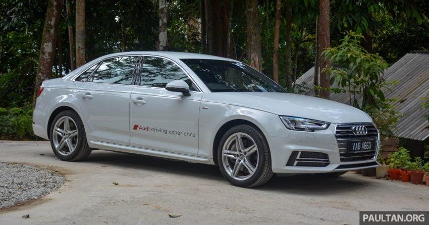 试驾:Audi A4 2.0 quattro & 1.4 TFSI,高低配的差异。 Image #33698