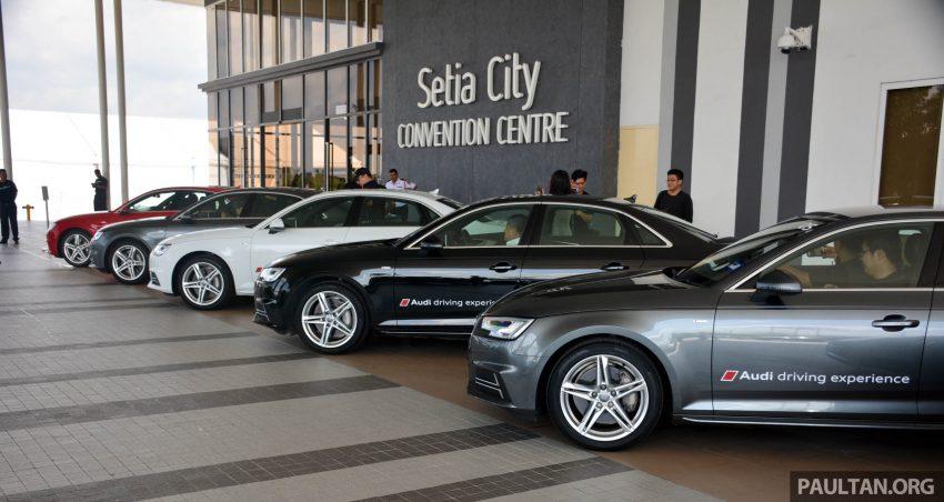 试驾:Audi A4 2.0 quattro & 1.4 TFSI,高低配的差异。 Image #33684