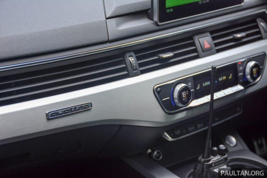 试驾:Audi A4 2.0 quattro & 1.4 TFSI,高低配的差异。 Image #33704