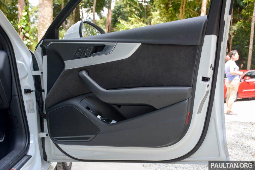试驾:Audi A4 2.0 quattro & 1.4 TFSI,高低配的差异。 Image #33710