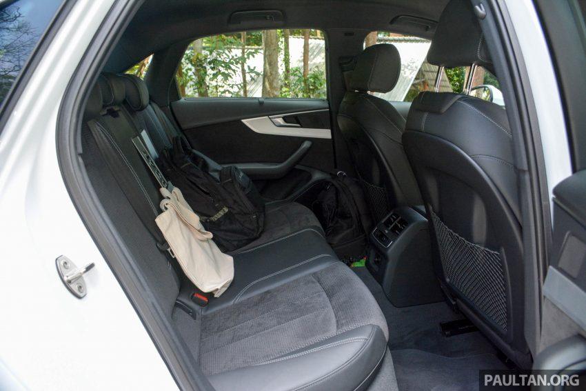 试驾:Audi A4 2.0 quattro & 1.4 TFSI,高低配的差异。 Image #33712