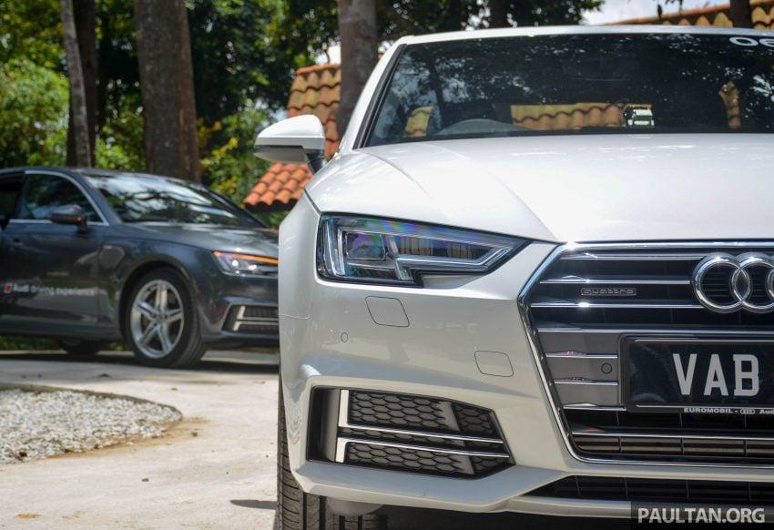 试驾:Audi A4 2.0 quattro & 1.4 TFSI,高低配的差异。 Image #33713