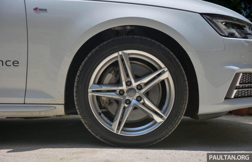 试驾:Audi A4 2.0 quattro & 1.4 TFSI,高低配的差异。 Image #33714