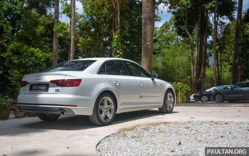 试驾:Audi A4 2.0 quattro & 1.4 TFSI,高低配的差异。 Image #33715