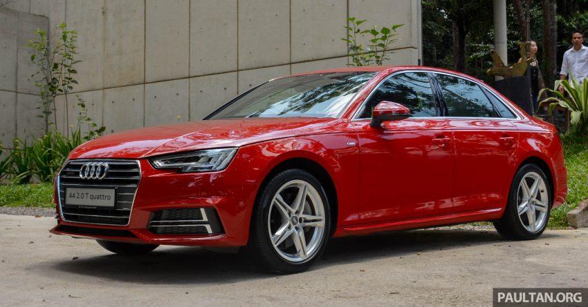 试驾:Audi A4 2.0 quattro & 1.4 TFSI,高低配的差异。 Image #33716
