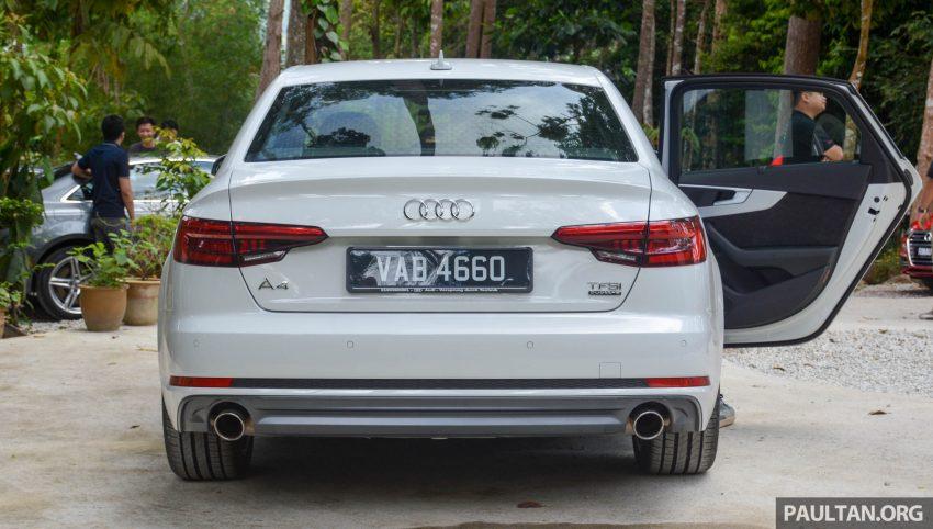 试驾:Audi A4 2.0 quattro & 1.4 TFSI,高低配的差异。 Image #33718