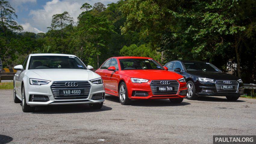 试驾:Audi A4 2.0 quattro & 1.4 TFSI,高低配的差异。 Image #33686