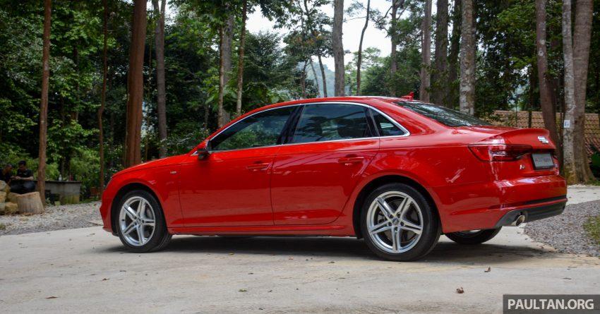 试驾:Audi A4 2.0 quattro & 1.4 TFSI,高低配的差异。 Image #33722