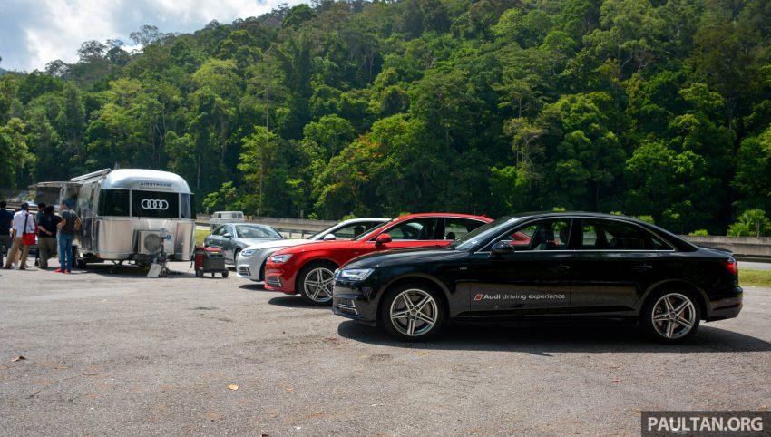 试驾:Audi A4 2.0 quattro & 1.4 TFSI,高低配的差异。 Image #33687