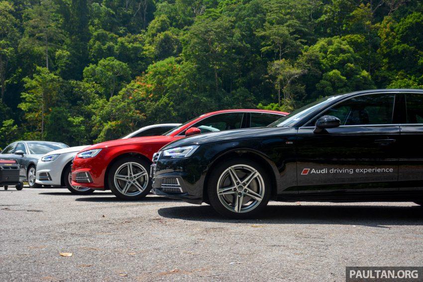 试驾:Audi A4 2.0 quattro & 1.4 TFSI,高低配的差异。 Image #33688