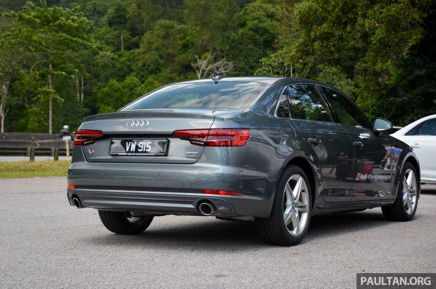试驾:Audi A4 2.0 quattro & 1.4 TFSI,高低配的差异。 Image #33689