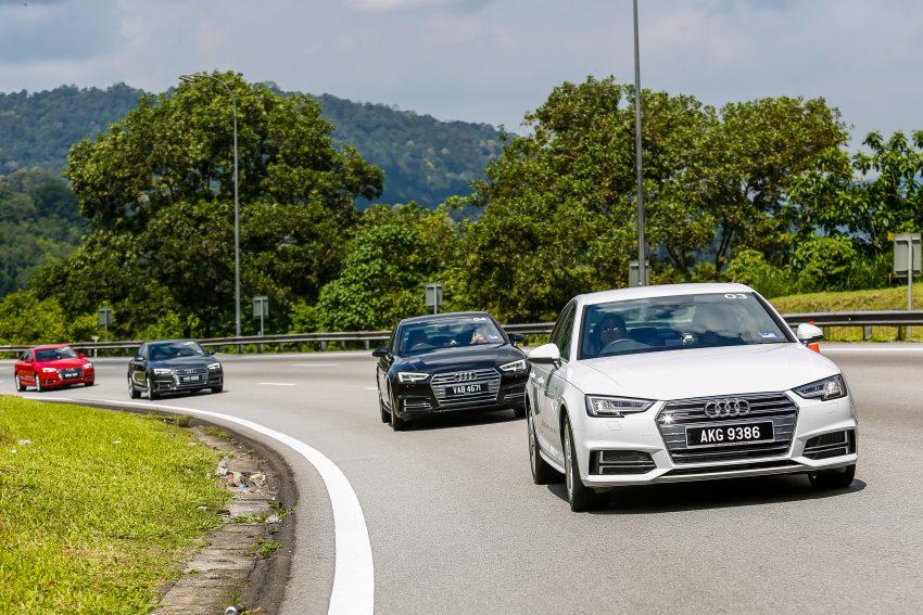 试驾:Audi A4 2.0 quattro & 1.4 TFSI,高低配的差异。 Image #33731