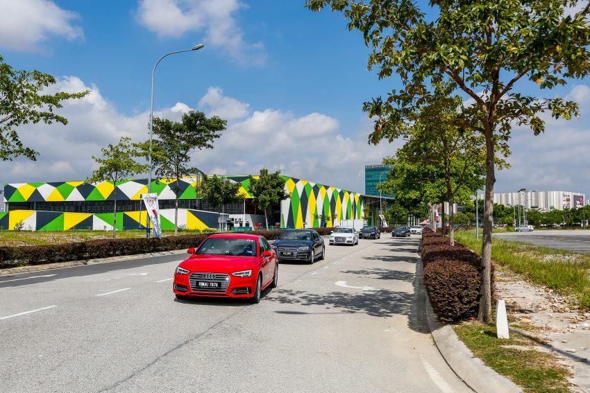 试驾:Audi A4 2.0 quattro & 1.4 TFSI,高低配的差异。 Image #33732