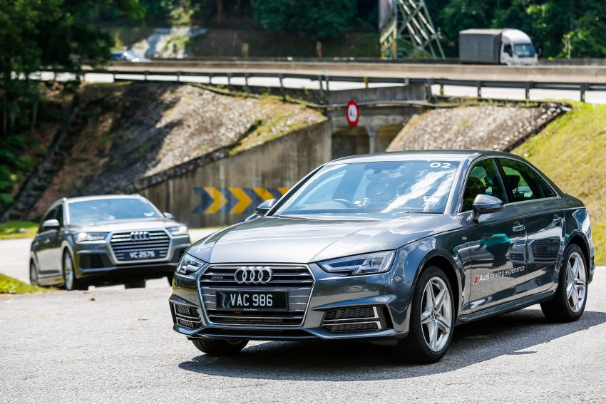 试驾:Audi A4 2.0 quattro & 1.4 TFSI,高低配的差异。 Image #33733