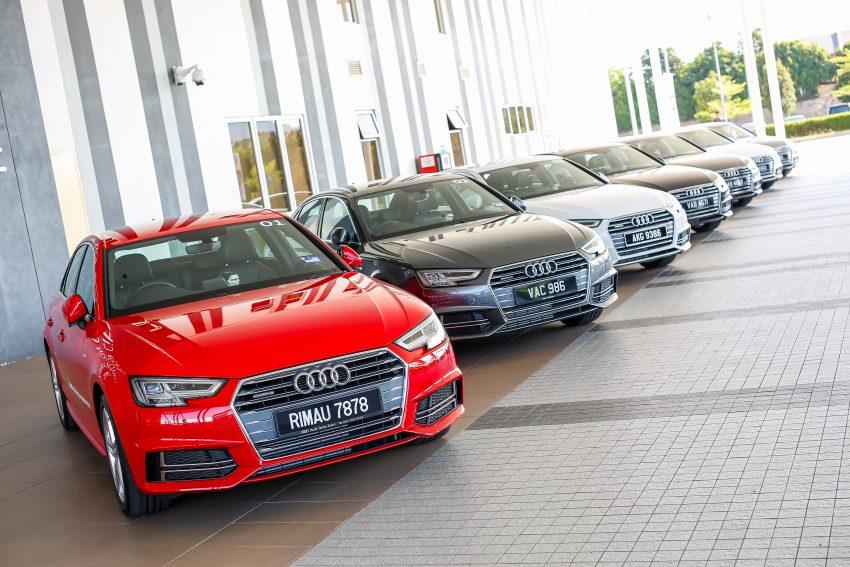 试驾:Audi A4 2.0 quattro & 1.4 TFSI,高低配的差异。 Image #33736