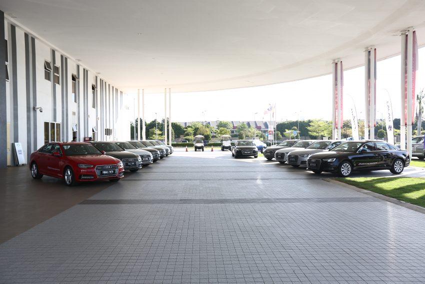 试驾:Audi A4 2.0 quattro & 1.4 TFSI,高低配的差异。 Image #33737