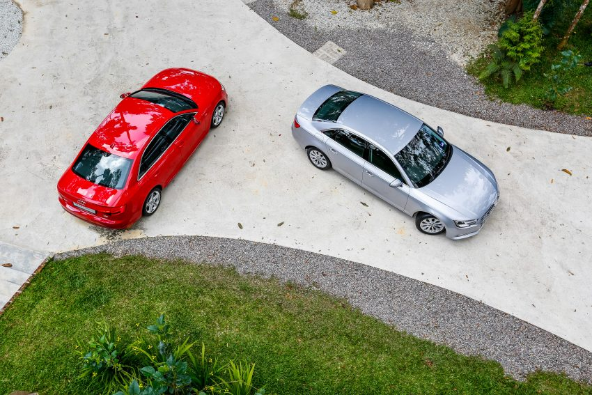 试驾:Audi A4 2.0 quattro & 1.4 TFSI,高低配的差异。 Image #33742