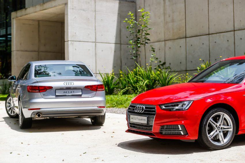 试驾:Audi A4 2.0 quattro & 1.4 TFSI,高低配的差异。 Image #33743