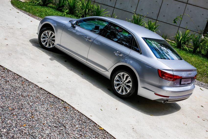 试驾:Audi A4 2.0 quattro & 1.4 TFSI,高低配的差异。 Image #33744