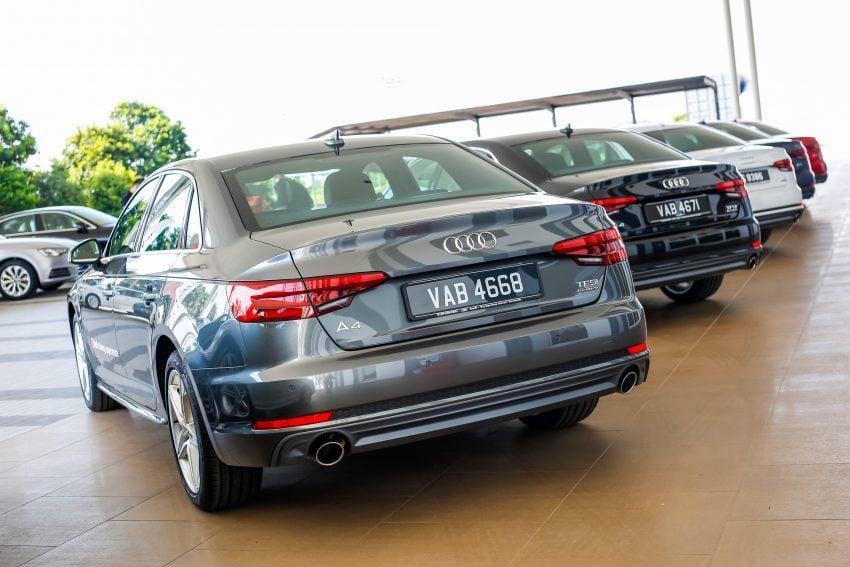 试驾:Audi A4 2.0 quattro & 1.4 TFSI,高低配的差异。 Image #33746