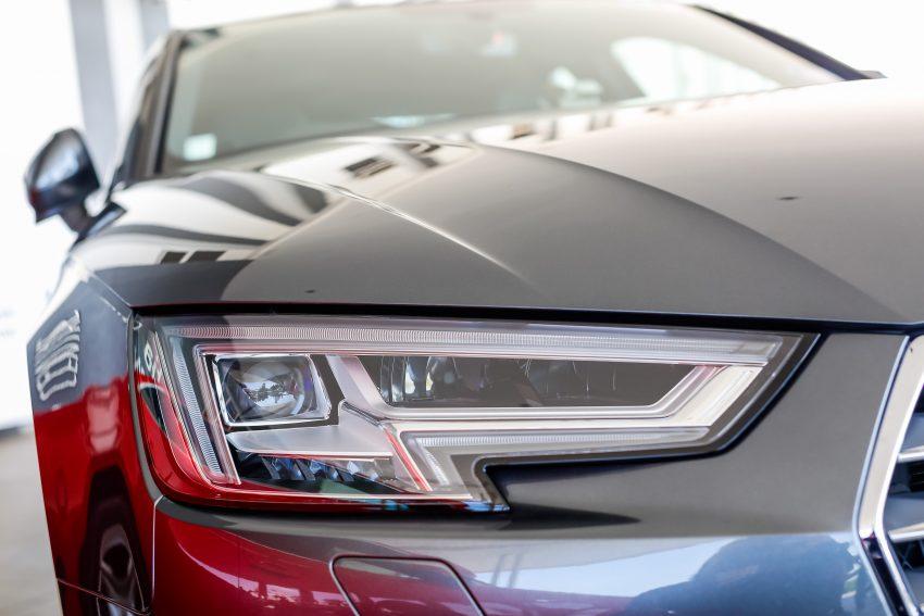 试驾:Audi A4 2.0 quattro & 1.4 TFSI,高低配的差异。 Image #33748