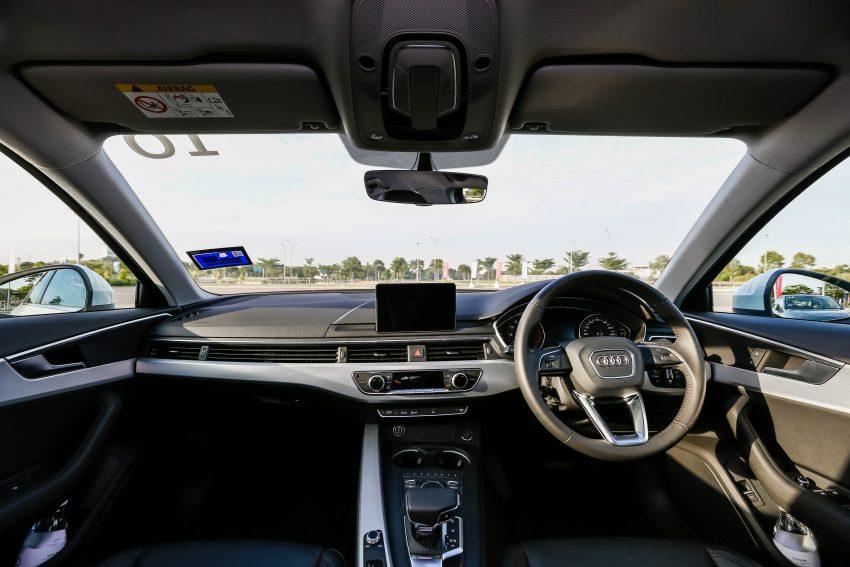 试驾:Audi A4 2.0 quattro & 1.4 TFSI,高低配的差异。 Image #33749
