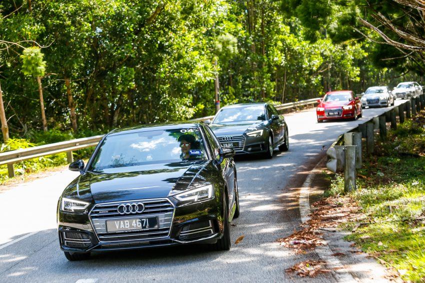 试驾:Audi A4 2.0 quattro & 1.4 TFSI,高低配的差异。 Image #33727