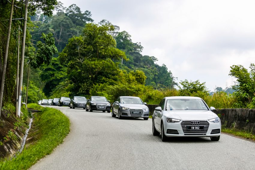试驾:Audi A4 2.0 quattro & 1.4 TFSI,高低配的差异。 Image #33728