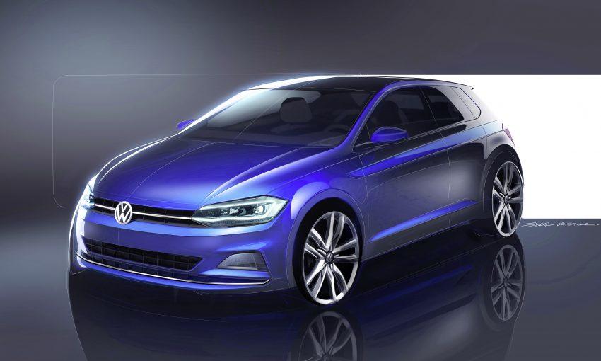 德国原厂发布全新 Volkswagen Polo,9月车展正式亮相。 Image #33173