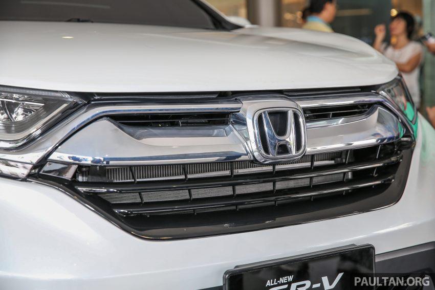 新车图集:全新 Honda CR-V 周日在槟城公开展示。 Image #31850