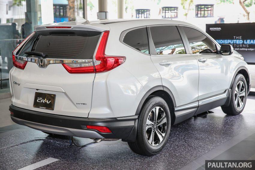 新车图集:全新 Honda CR-V 周日在槟城公开展示。 Image #31842