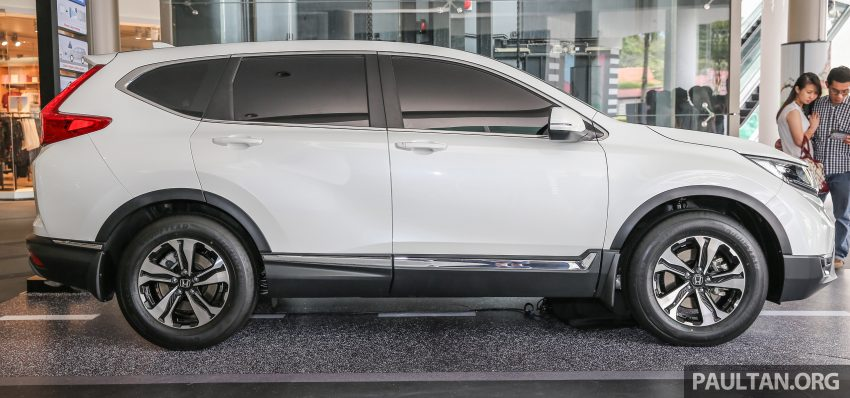 新车图集:全新 Honda CR-V 周日在槟城公开展示。 Image #31845