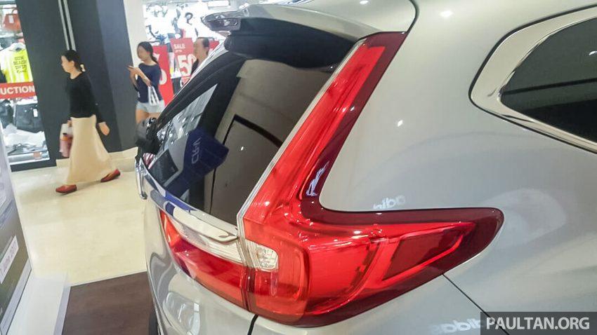 全新 Honda CR-V 1.5 VTEC Turbo 在沙巴亚庇公开亮相。 Image #32622