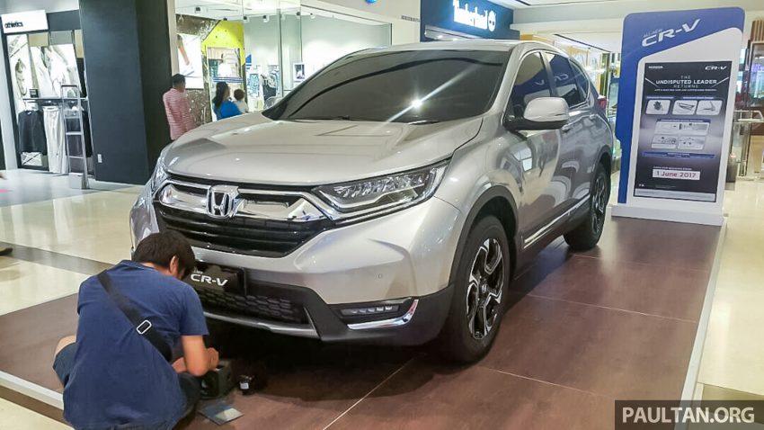全新 Honda CR-V 1.5 VTEC Turbo 在沙巴亚庇公开亮相。 Image #32640