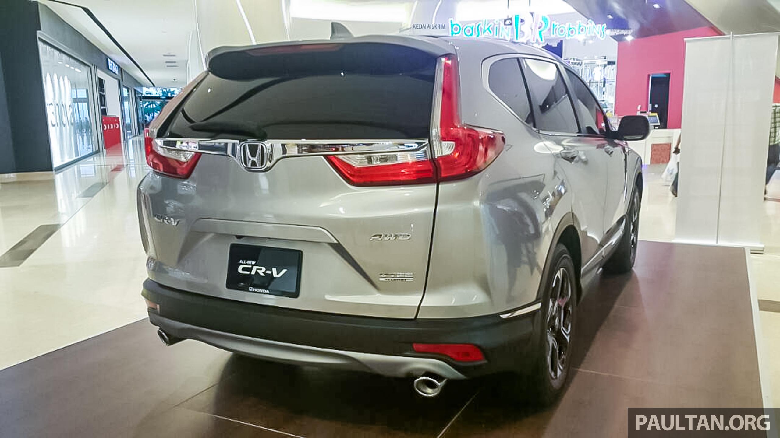 全新 Honda CR-V 1.5 VTEC Turbo 在沙巴亚庇公开亮相。 KK CRV-23 - Paul