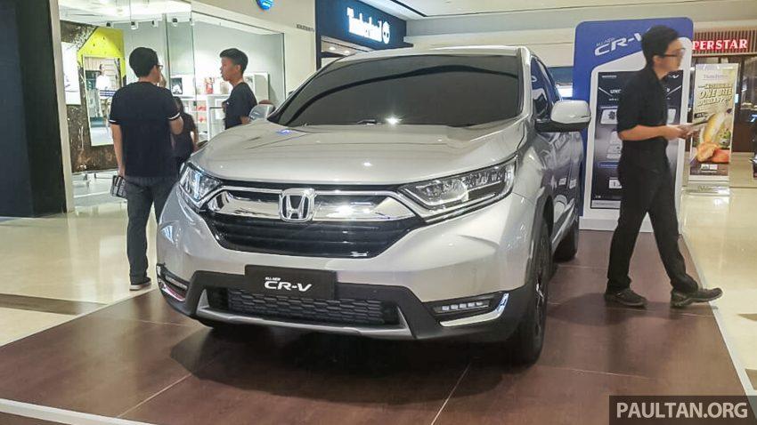全新 Honda CR-V 1.5 VTEC Turbo 在沙巴亚庇公开亮相。 Image #32644