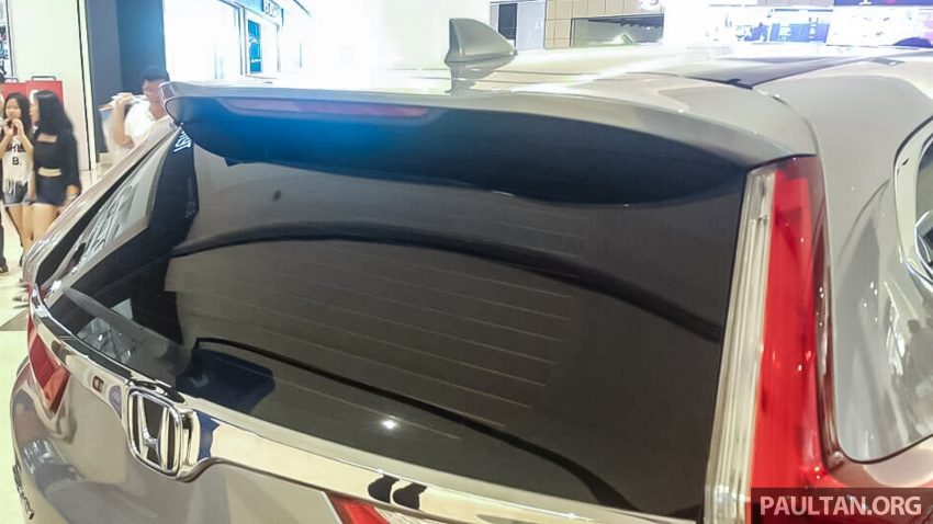 全新 Honda CR-V 1.5 VTEC Turbo 在沙巴亚庇公开亮相。 Image #32624
