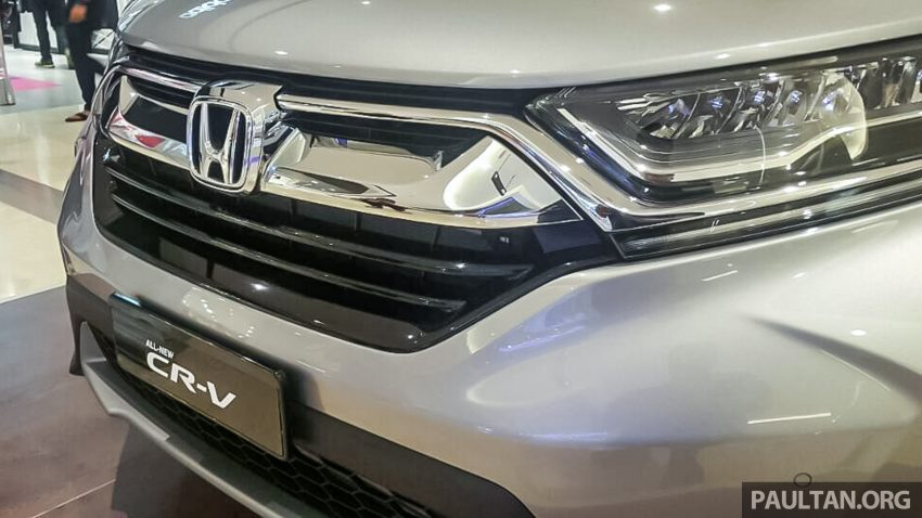 全新 Honda CR-V 1.5 VTEC Turbo 在沙巴亚庇公开亮相。 Image #32625