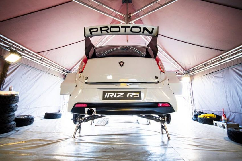 Proton Iriz R5 亮相 Goodwood Festival of Speed 开跑。 Image #34304