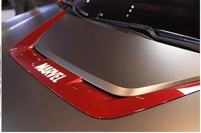 Hyundai与Marvel合作, 推出 Kona Iron Man 特别版车型。 Image #33244