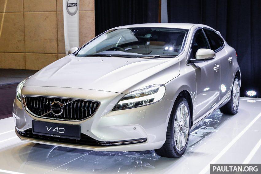 2017 Volvo V40 小改款本地面市, 价格不变, 售18万令吉。 Image #33353