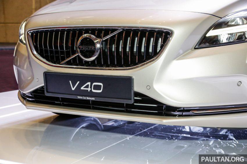2017 Volvo V40 小改款本地面市, 价格不变, 售18万令吉。 Image #33304