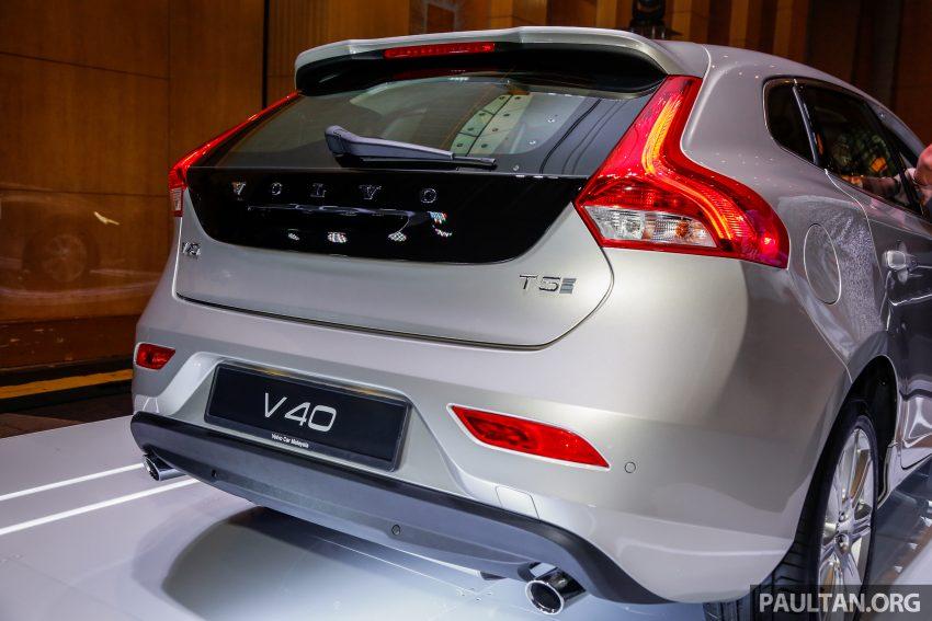 2017 Volvo V40 小改款本地面市, 价格不变, 售18万令吉。 Image #33314