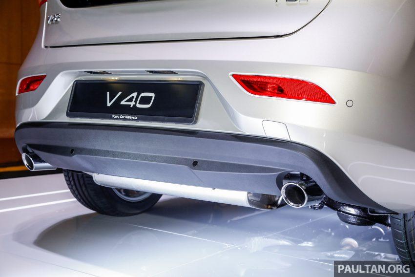 2017 Volvo V40 小改款本地面市, 价格不变, 售18万令吉。 Image #33317