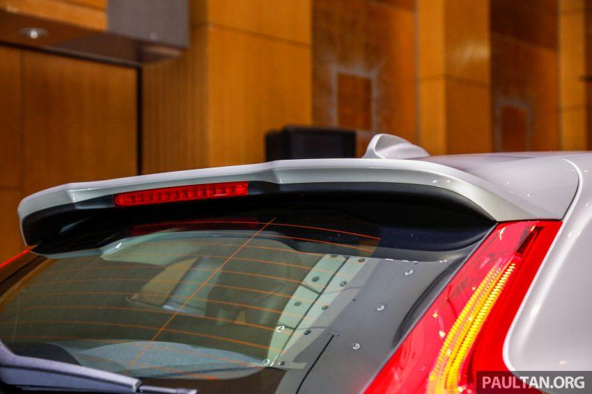2017 Volvo V40 小改款本地面市, 价格不变, 售18万令吉。 Image #33318