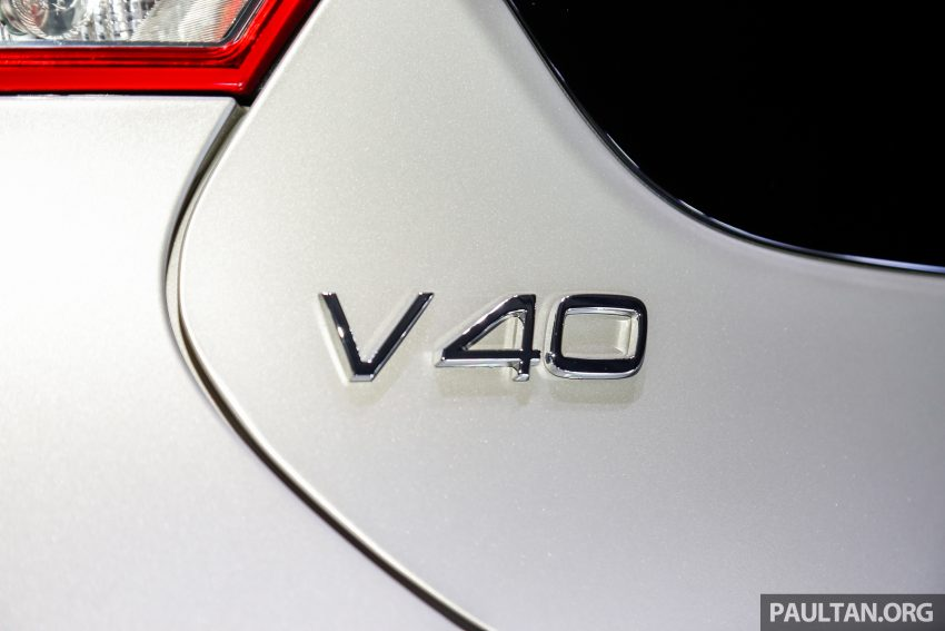2017 Volvo V40 小改款本地面市, 价格不变, 售18万令吉。 Image #33319