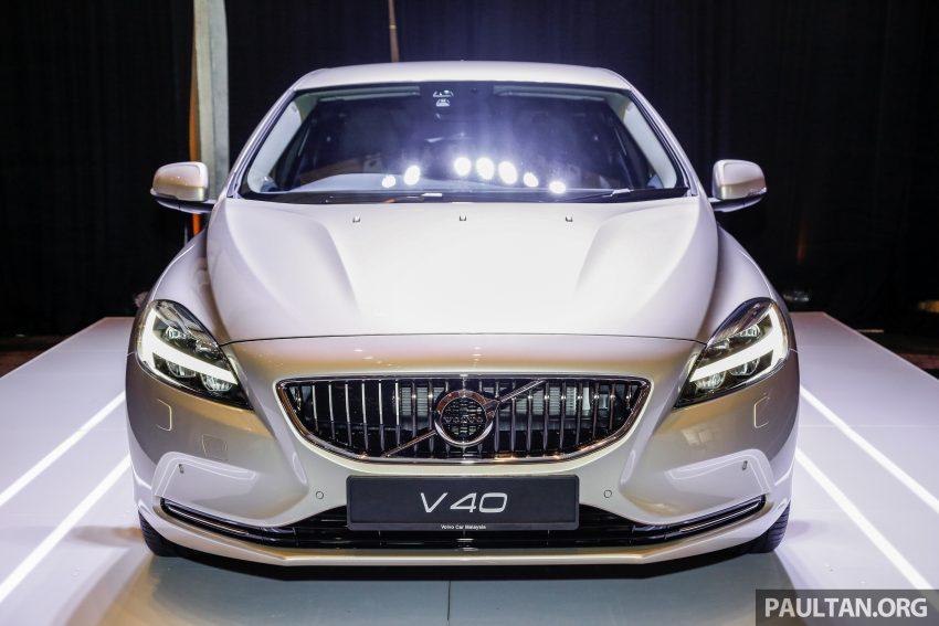 2017 Volvo V40 小改款本地面市, 价格不变, 售18万令吉。 Image #33298