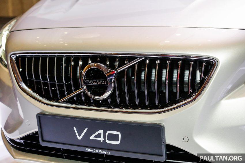 2017 Volvo V40 小改款本地面市, 价格不变, 售18万令吉。 Image #33302