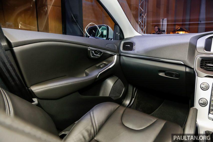 2017 Volvo V40 小改款本地面市, 价格不变, 售18万令吉。 Image #33337